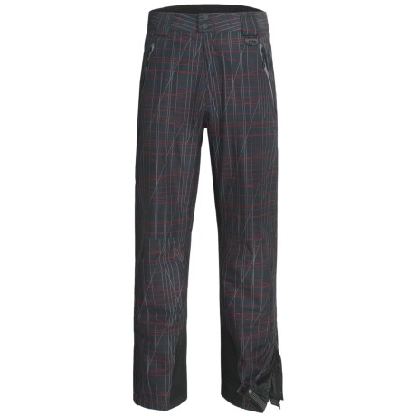 Marker Mars Print Gore-Tex® Ski Pants - Waterproof, Insulated (For Men) in Black