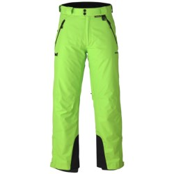 Marker Meteor Gore-Tex® Ski Pants - Waterproof, Insulated (For Men) in Acid