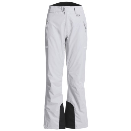 Marker Meteorite Gore-Tex® Ski Pants - Waterproof, Insulated (For Women) in White