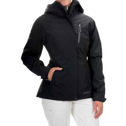 Marker Moment Ski Jacket - Waterproof, Insulated (For Women) in Black - Closeouts