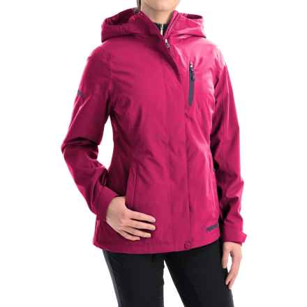 Marker Moment Soft Shell Ski Jacket - Waterproof (For Women) in Bright Rose - Closeouts