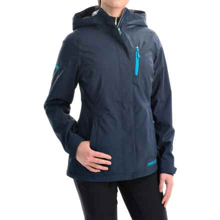Marker Moment Soft Shell Ski Jacket - Waterproof (For Women) in Dark Night - Closeouts