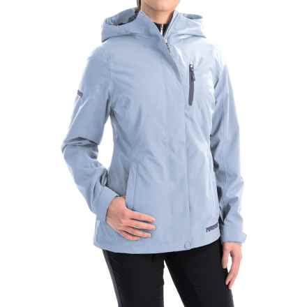 Marker Moment Soft Shell Ski Jacket - Waterproof (For Women) in Vista Blue - Closeouts