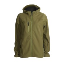 Marker Olympus Soft Shell Jacket (For Women) in Olive - Closeouts