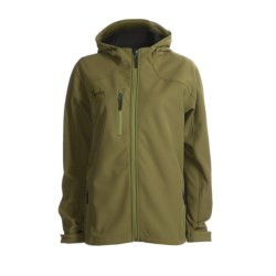 Marker Olympus Soft Shell Jacket (For Women) in Olive