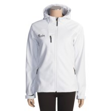 Marker Olympus Soft Shell Jacket (For Women) in White - Closeouts