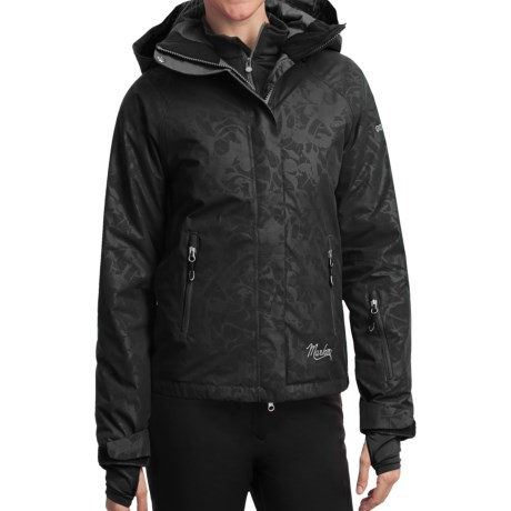 Marker Optima Gore-Tex® Embossed Jacket - Waterproof, Insulated (For Women) in Black