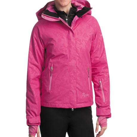 Marker Optima Gore-Tex® Embossed Jacket - Waterproof, Insulated (For Women) in Hot Pink