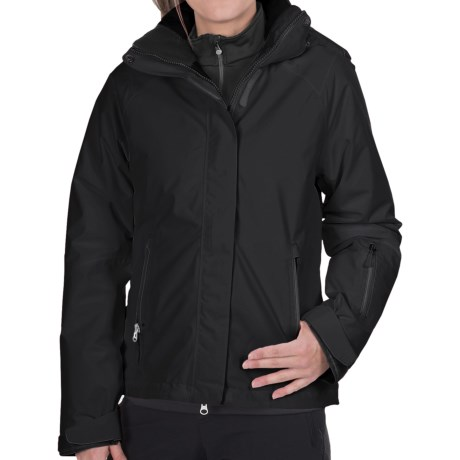 Marker Optima Gore-Tex® Jacket - Waterproof, Insulated (For Women) in Black