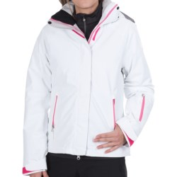 Marker Optima Gore-Tex® Jacket - Waterproof, Insulated (For Women) in White