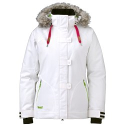 Marker Paige Jacket - Waterproof, Insulated (For Women) in White