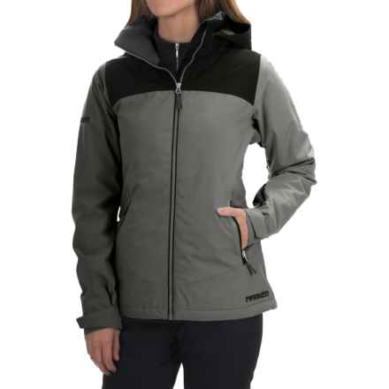 Marker Pandemonium Ski Jacket - Waterproof, Insulated (For Women) in Dark Shadow - Closeouts