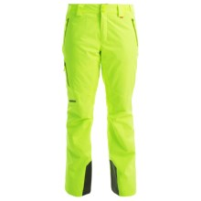 Marker Pandemonium Ski Pants - Waterproof, Insulated (For Women) in Neon Yellow - Closeouts