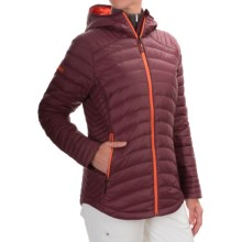 Marker PC Down Jacket - 700 Fill Power (For Women) in Currant - Closeouts