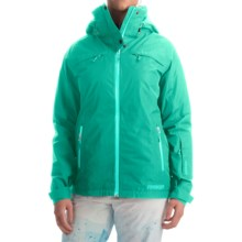 Marker Pitch Perfect Gore-Tex® Ski Jacket - Waterproof, Insulated, RECCO® (For Women) in Aqua Green - Closeouts