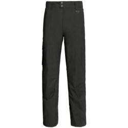 Marker Pop Cargo Shell Ski Pants - Waterproof (For Men) in Black