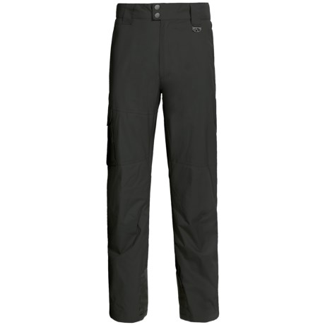 Marker Pop Cargo Shell Ski Pants - Waterproof (For Men) in Black