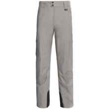 Marker Pop Cargo Shell Ski Pants - Waterproof (For Men) in Grey - Closeouts