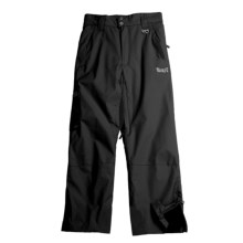 Marker Pop Cargo Ski Pants - Insulated (For Boys) in Black - Closeouts