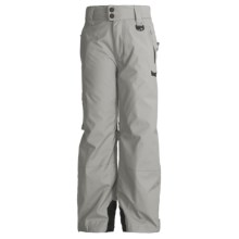 Marker Pop Cargo Ski Pants - Insulated (For Boys) in Grey - Closeouts