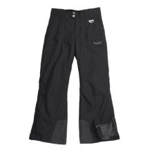 Marker Pop Jean Ski Pants - Insulated (For Girls) in Black - Closeouts