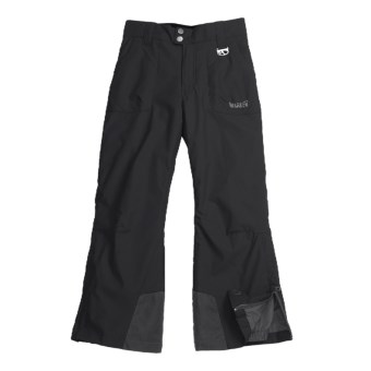 Marker Pop Jean Ski Pants - Insulated (For Girls) in Black