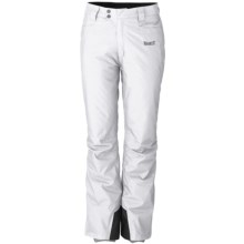 Marker Pop Jean Ski Pants - Waterproof, Insulated (For Women) in White - Closeouts