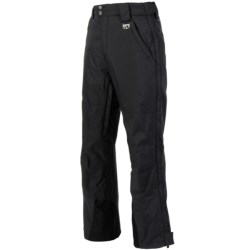 Marker Pop Side-Zip Shell Pants - Waterproof (For Men) in Black