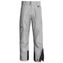 Marker Pop Side Zip Shell Pants - Waterproof (For Men) in Grey - Closeouts