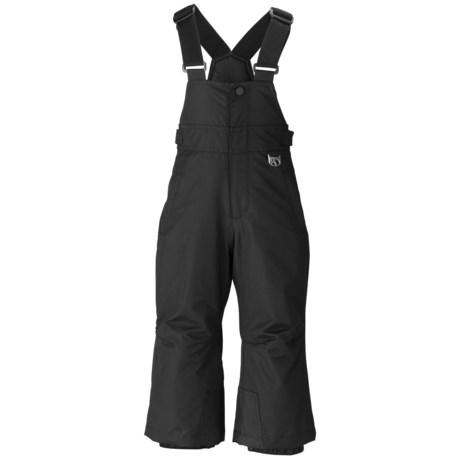 Marker Preschool Gillette Bib Ski Pants - Insulated (For Kids) in Black