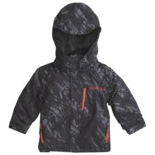 Marker Prince Ski Jacket - Insulated (For Little Boys) in Black - Closeouts