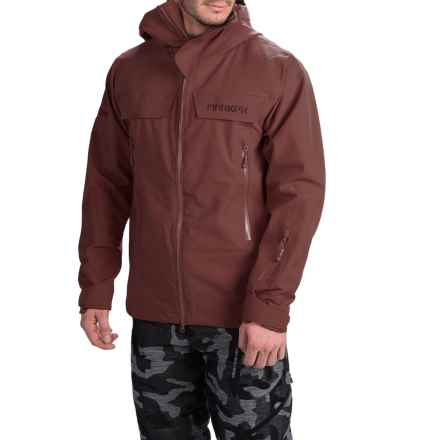 Marker Pumphouse Polartec® NeoShell® Ski Jacket - Waterproof (For Men) in Bitter Brown - Closeouts