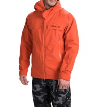 Marker Pumphouse Polartec® NeoShell® Ski Jacket - Waterproof (For Men) in Red Clay - Closeouts