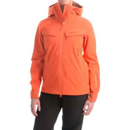 Marker Pumphouse Polartec® NeoShell® Ski Jacket - Waterproof (For Women) in Mandarin - Closeouts
