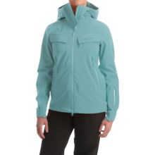 Marker Pumphouse Polartec® NeoShell® Ski Jacket - Waterproof (For Women) in Storm Blue - Closeouts