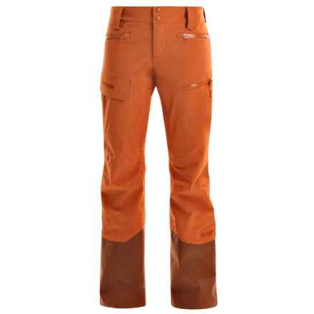 Marker Pumphouse Ski Pants - Waterproof (For Women) in Basalt Brown - Closeouts