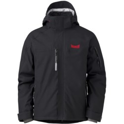 Marker Ramp Ski Jacket - Waterproof, Insulated (For Men) in Black