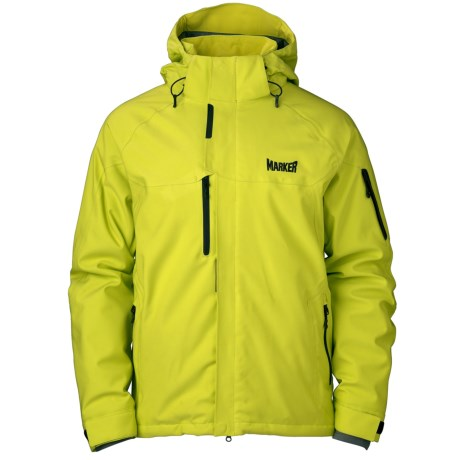 Marker Ramp Ski Jacket - Waterproof, Insulated (For Men) in Yellow