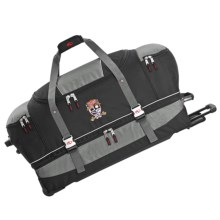 "Marker Rolling Duffel Bag - 32"" in Charcoal/Black - Closeouts"