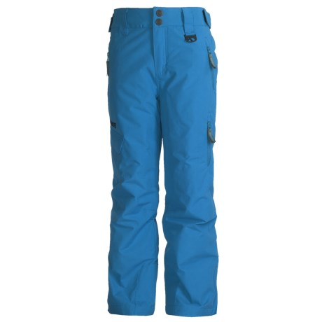 Marker Shield Snow Pants - Insulated (For Boys) in Cadet