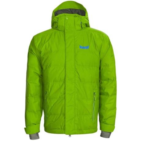 Marker Shroud Down Jacket - 600 Fill Power, Waterproof (For Men) in Bright Green