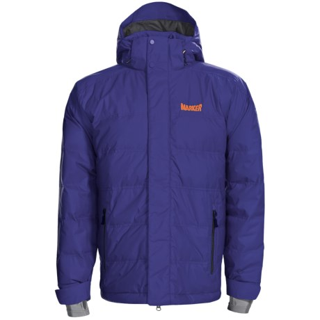 Marker Shroud Down Jacket - 600 Fill Power, Waterproof (For Men) in Navy