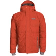 Marker Shroud Down Jacket - 600 Fill Power, Waterproof (For Men) in Orange - Closeouts