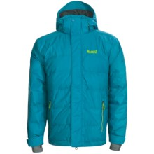 Marker Shroud Down Jacket - 600 Fill Power, Waterproof (For Men) in Pacific - Closeouts
