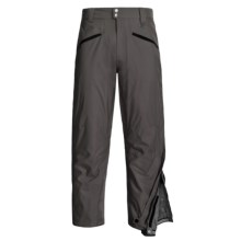 Marker Side Zip Shell Pants - Waterproof (For Men) in Black - Closeouts