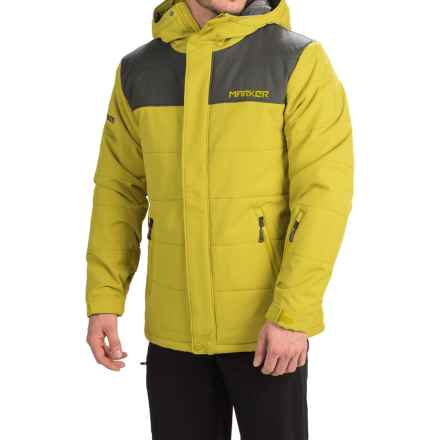 Marker Sierra Ski Jacket - Waterproof, Insulated (For Men) in Antique Moss - Closeouts