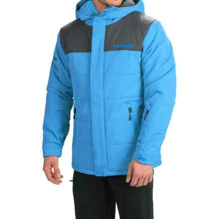 Marker Sierra Ski Jacket - Waterproof, Insulated (For Men) in Blue Bird - Closeouts