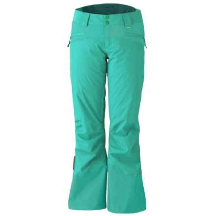 Marker Sierra Ski Pants - Waterproof, Insulated (For Women) in Aqua Green - Closeouts