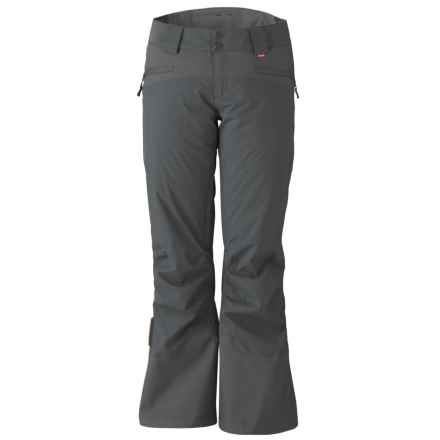 Marker Sierra Ski Pants - Waterproof, Insulated (For Women) in Dark Shadow - Closeouts