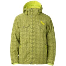 Marker Slater Jacket - Waterproof, Insulated (For Men) in Yellow - Closeouts